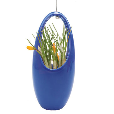 Hanging Aerium Egg - Blue