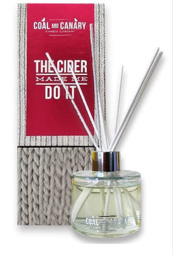 The Cider Made Me Do It - Reed Diffuser