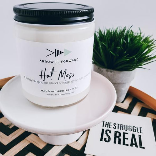 Arrow It Forward Candle - Hot Mess