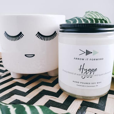 Arrow It Forward Candle - Hygge