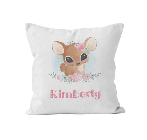 cute baby animal throw pillow personalized