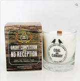 Coal and Canary Candle Great Complexion & No Reception