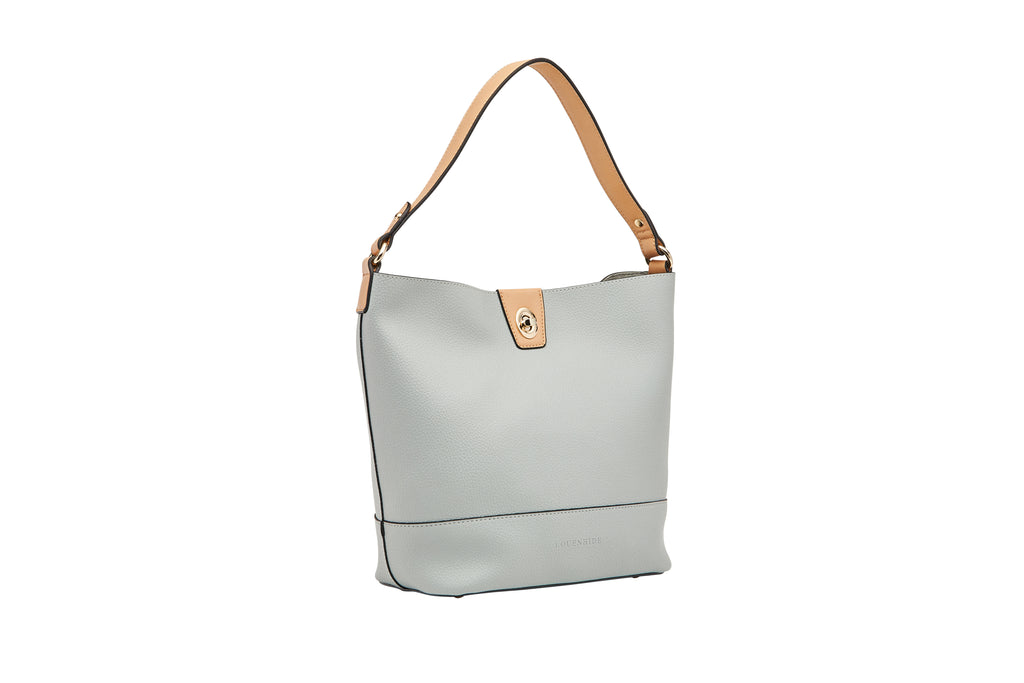 Louenhide Margot Tote/Purse 2in1 - Dusty Blue, Purse, [Ziya Blue]