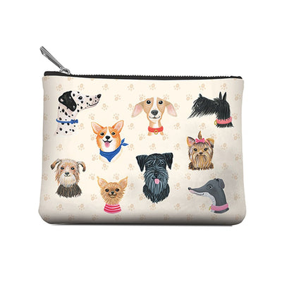 Accessory Pouch,  Doggone Cute, Medium, Pouch, [Ziya Blue]