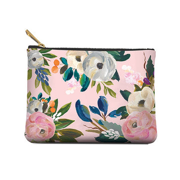 Accessory Pouch,  Bella Floral, Medium