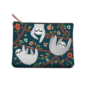 Accessory Pouch, The Sloth Life, Medium