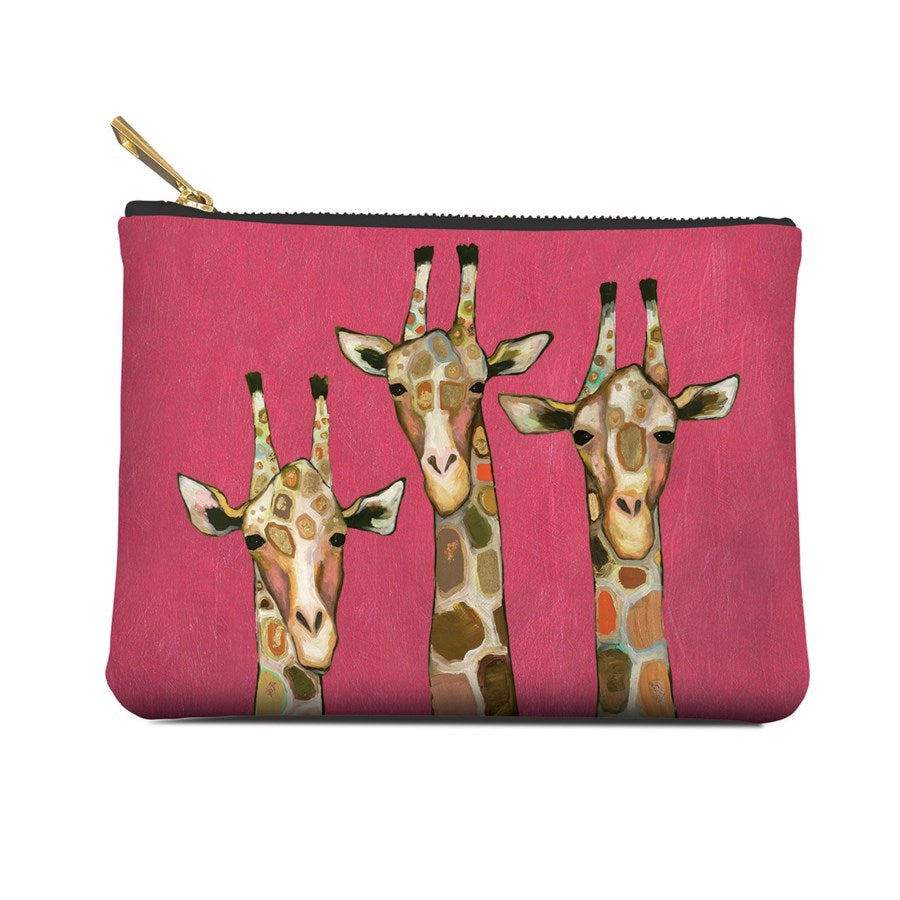 Accessory Pouch, Majestic Giraffe, Medium, Pouch, [Ziya Blue]