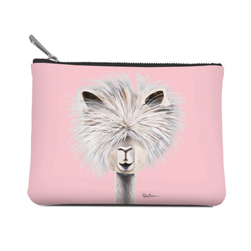 Accessory Pouch,  Tina (Pink), Medium
