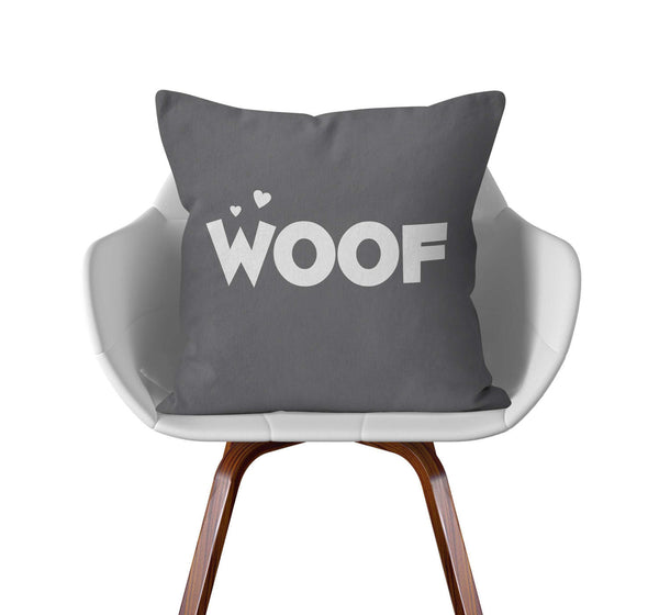 Pet Pillow, Woof, CUSTOM color by Kalilaine