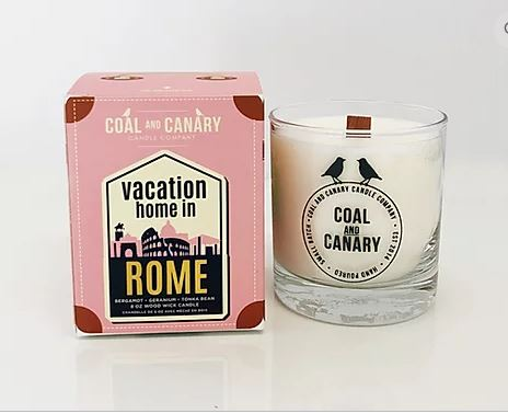CANDLE: Vacation Home in Rome, Candle, [Ziya Blue]