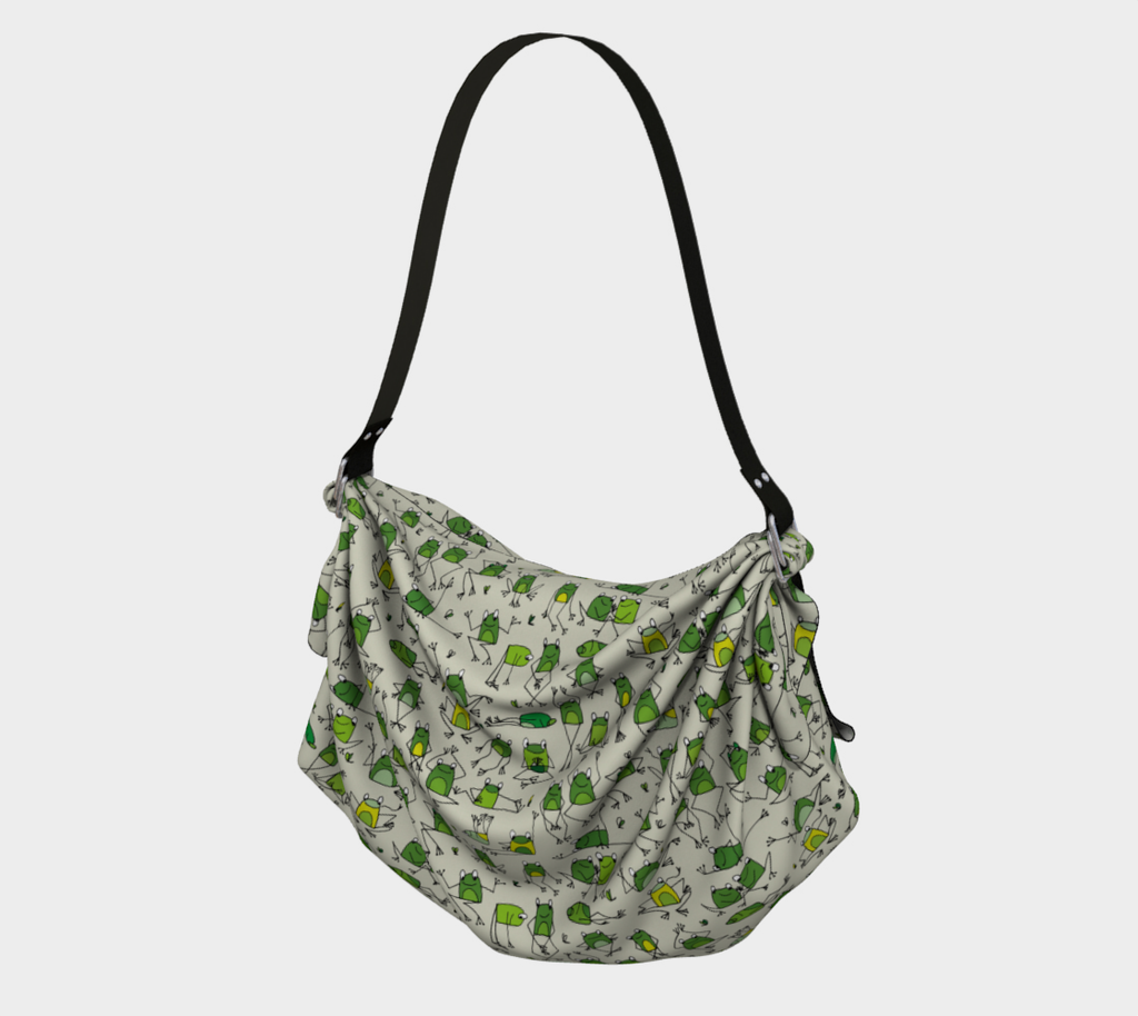 Happy Frogs Origami Tote