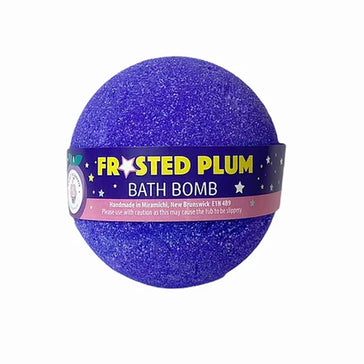 Frosted Plum Bath Bomb
