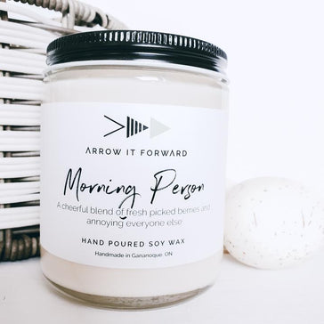 Arrow It Forward Candle - Morning Person