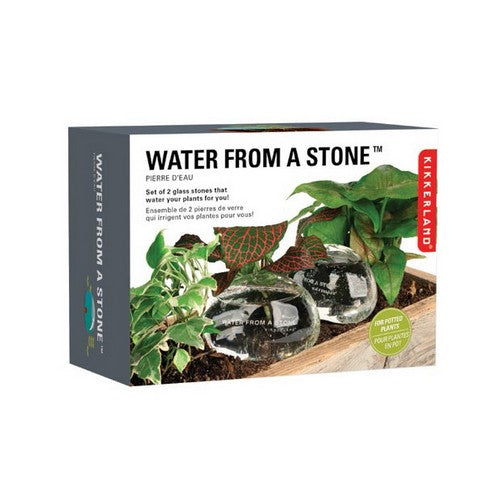 WATER FROM A STONE, Planter, [Ziya Blue]