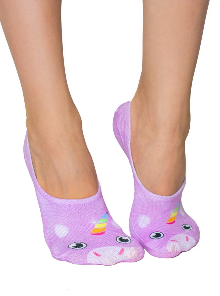 UNICORN LINER, socks, [Ziya Blue]
