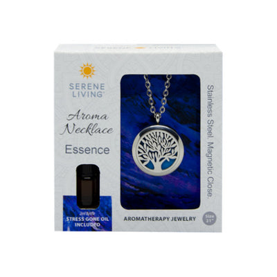 Serene Living Aroma Necklace Essence - Ziya Blue