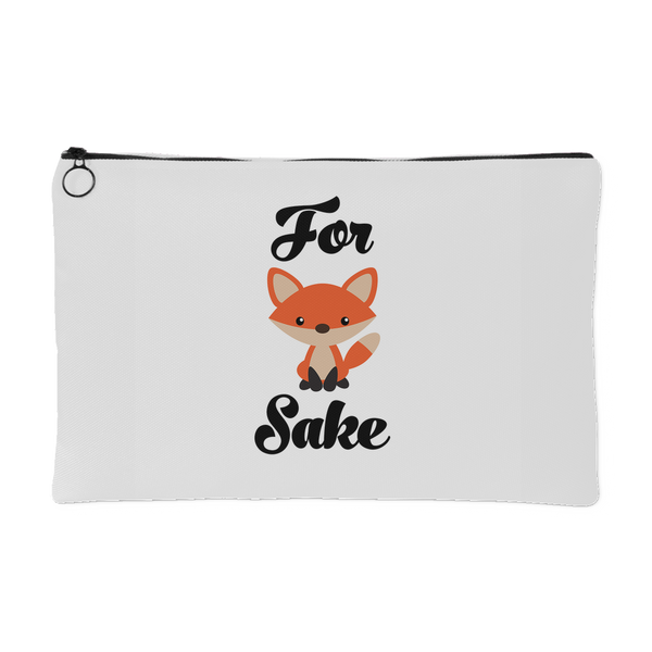ACCESSORY POUCH, For Fox Sake Pouch by Kalilaine - Kalilaine Creations