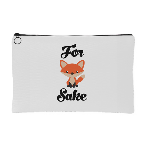 ACCESSORY POUCH, For Fox Sake Pouch by Ziya Blue