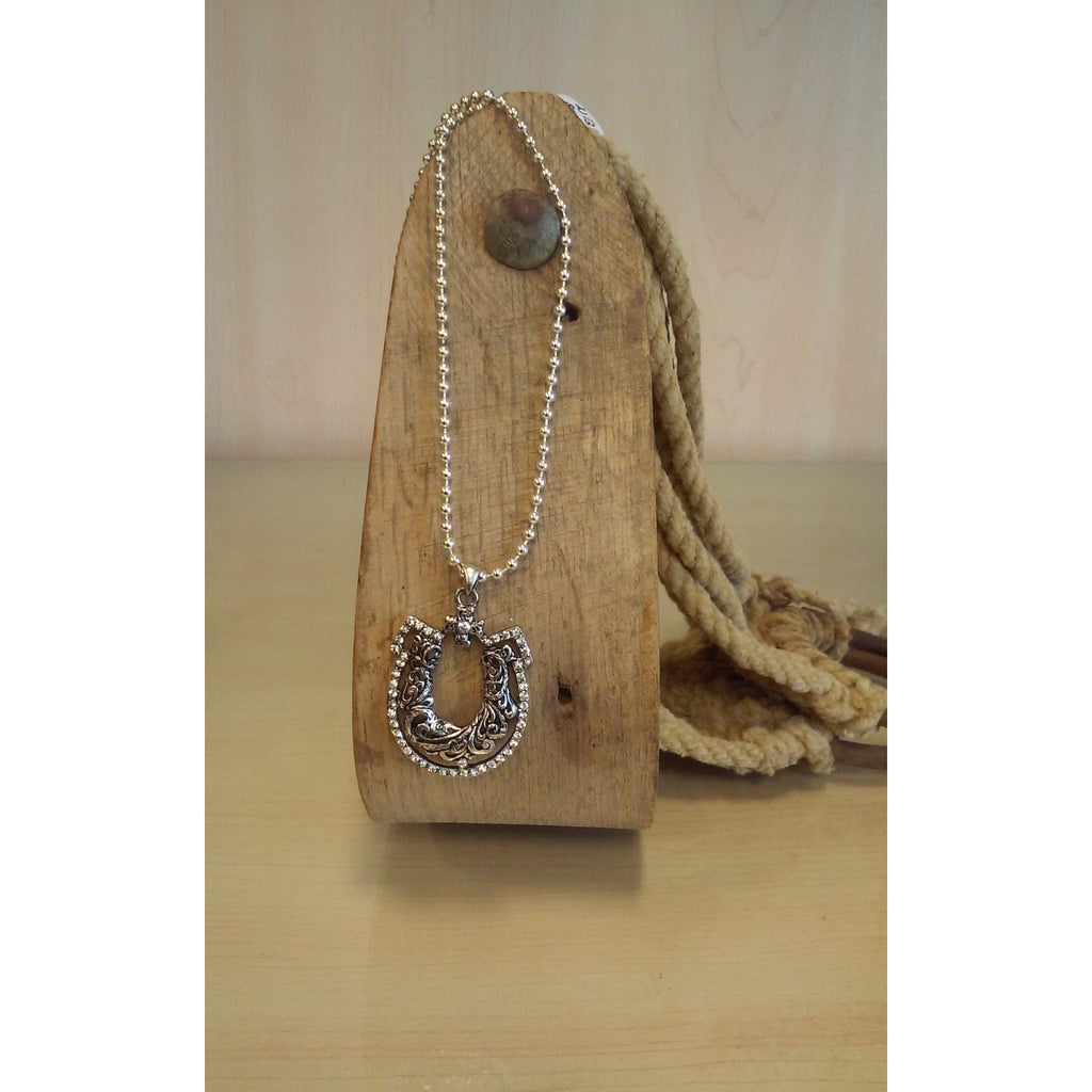 Horseshoe Necklace & Earring Set - Oak Spring Bling