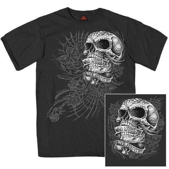Sweet Demise Men's Double Sided T-Shirt - Oak Spring Bling