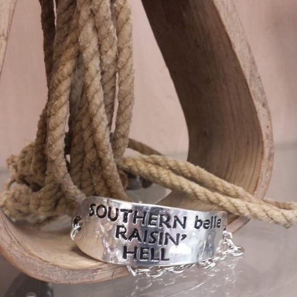 Southern Belle Raisin Hell Bracelet - Oak Spring Bling