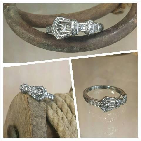 Stainless Steel Clear Buckle Ring