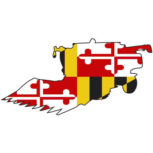 Maryland Decal - Combine - Oak Spring Bling