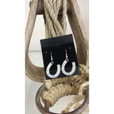 Horseshoe Earrings - Oak Spring Bling