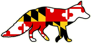 Maryland Decal - Fox