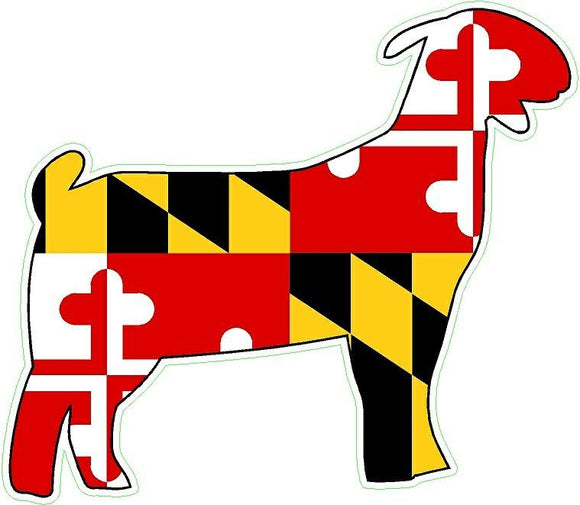 Maryland Decal - Goat