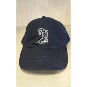 Dressage Horse Hat - Navy - Oak Spring Bling