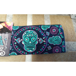 Danbando Headband - Navy with Sugar Skull - Oak Spring Bling