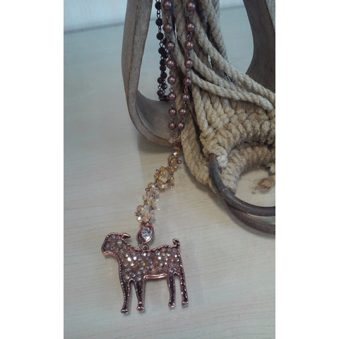 Goat Bling Necklace