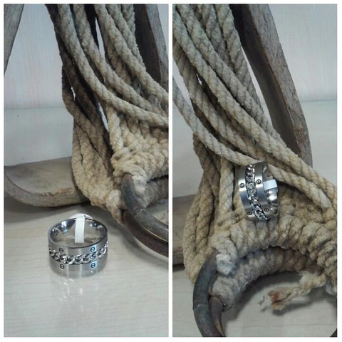 Stainless Steel Spinner Ring Chain & Lugs