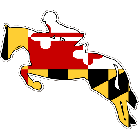 Maryland Decal - Jumper - Oak Spring Bling