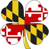 Maryland Decal - Clover - Oak Spring Bling
