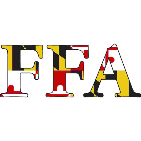 Maryland Decal - FFA