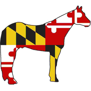 Maryland Decal - Horse - Oak Spring Bling