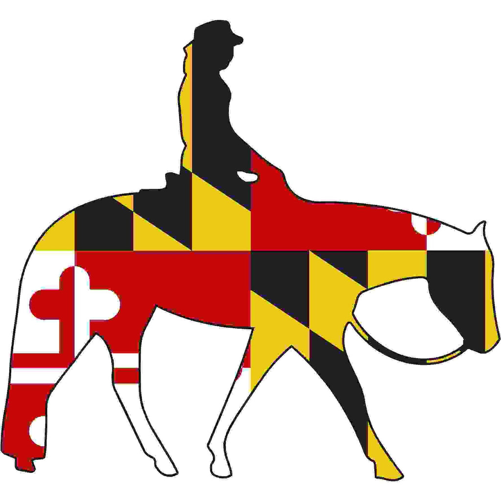 Maryland Decal - Western Pleasure - Oak Spring Bling