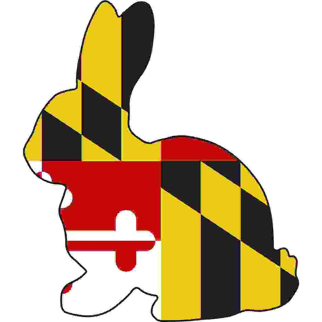 Maryland Decal - Rabbit - Oak Spring Bling