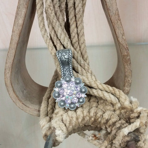 Purple Concho Pendant