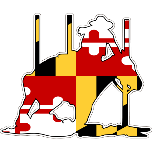 Maryland Decal - Pole Bender #2 - Oak Spring Bling