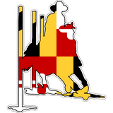 Maryland Decal - Pole Bender - Oak Spring Bling