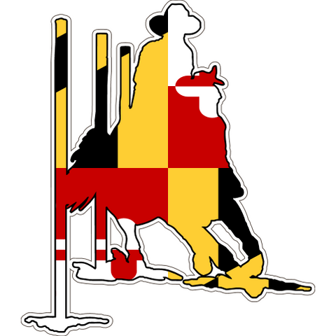 Maryland Decal - Pole Bender