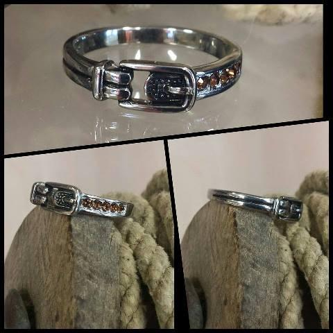 Stainless Steel Buckle Ring - Oak Spring Bling