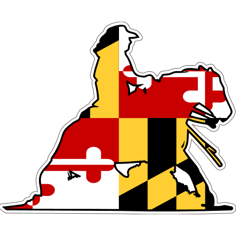 Maryland Decal - Reiner - Oak Spring Bling