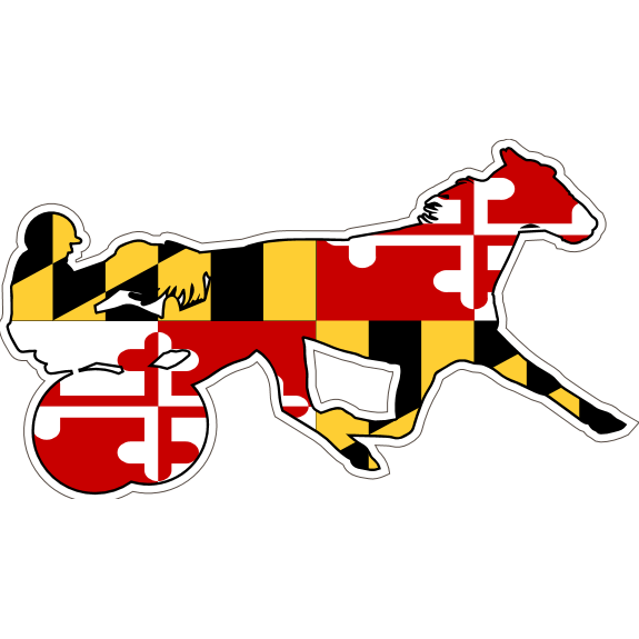 Maryland Decal - Standardbred - Oak Spring Bling