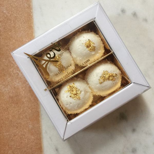 Marshmallow Bonbons Favour Box