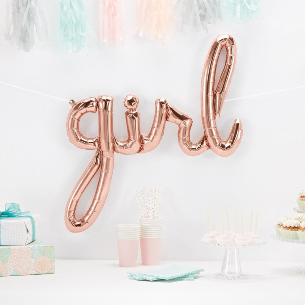 """girl"" or ""boy"" script balloon"