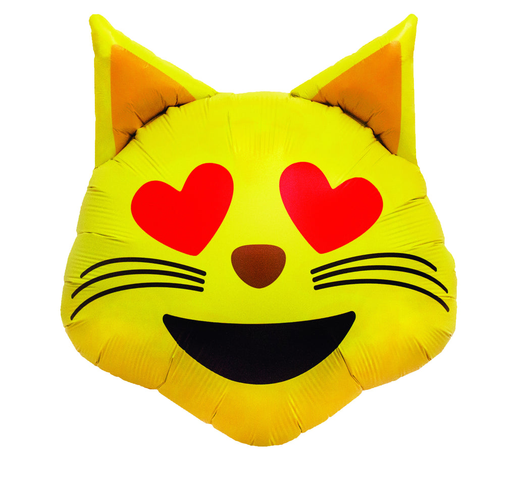 "22"" cat emoji balloon"